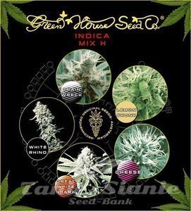 GREEN HOUSE SEEDS - Indica Mix H